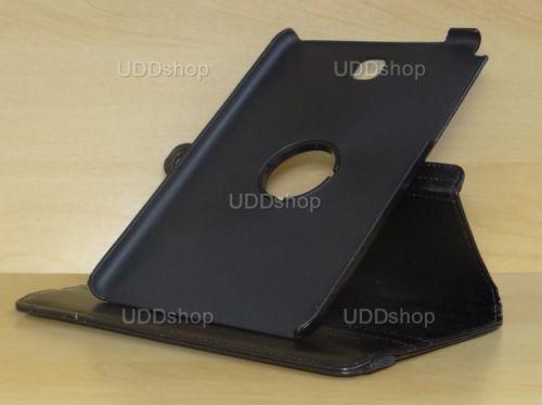 Capa Case Carteira Giratória 360º PRETA Tablet Samsung Galaxy Tab A 8.0 Modelos SM-P350n, SM-P355m, SM-T350n ou SM-T355n + Frete Grátis 162328