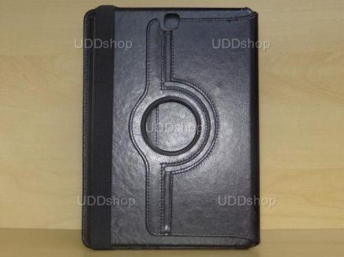 Capa Case Carteira Giratória 360º PRETA Tablet Samsung Galaxy Tab A 9.7 Modelos SM-P550n, SM-P555m, SM-T550n ou SM-T555n + Frete Grátis 162090