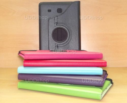 Capa Case Giratória 360º VERMELHA Tablet Samsung Galaxy Tab E 9.6 Modelos SM-T560n ou SM-T561m + Frete Grátis 212195