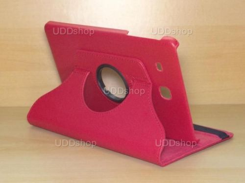 Capa Case Giratória 360º VERMELHA Tablet Samsung Galaxy Tab E 9.6 Modelos SM-T560n ou SM-T561m + Frete Grátis 212194
