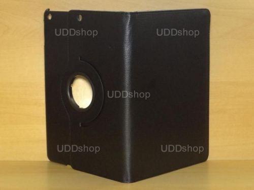Capa Case Giratória 360º PRETA Tablet Apple iPad 5 Air A1474, A1475 e A1476 -- iPad 6 Air 2 A1566 e A1567 -- V2 + Frete Grátis 212142