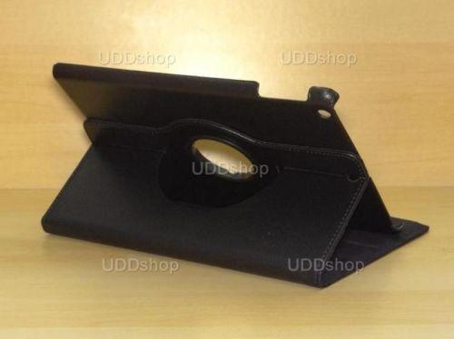 Capa Case Giratória 360º PRETA Tablet Apple iPad 5 Air A1474, A1475 e A1476 -- iPad 6 Air 2 A1566 e A1567 -- V2 + Frete Grátis 212146