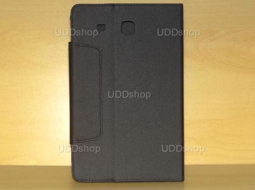 Capa Case Carteira PRETA Tablet Samsung Galaxy Tab E 9.6 Modelos SM-T560n ou SM-T561m + Frete Grátis 216604