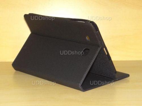 Capa Case Carteira PRETA Tablet Samsung Galaxy Tab E 9.6 Modelos SM-T560n ou SM-T561m + Frete Grátis 216608