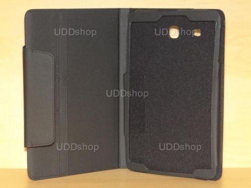 Capa Case Carteira PRETA Tablet Samsung Galaxy Tab E 9.6 Modelos SM-T560n ou SM-T561m + Frete Grátis 216607