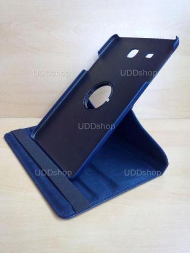 Capa Case Giratória 360º AZUL Marinho Tablet Samsung Galaxy Tab E 9.6 Modelos SM-T560n ou SM-T561m + Frete Grátis 237155