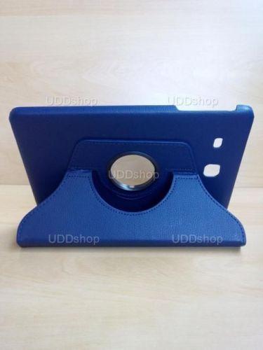 Capa Case Giratória 360º AZUL Marinho Tablet Samsung Galaxy Tab E 9.6 Modelos SM-T560n ou SM-T561m + Frete Grátis 237157