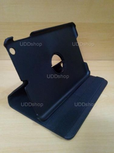 Capa Case Capinha Giratória 360º PRETA Tablet Apple iPad Mini 1 códigos A1432 A1454 A1455 -- iPad Mini 2 códigos A1489 A1490 A1491 + Frete Grátis 256032