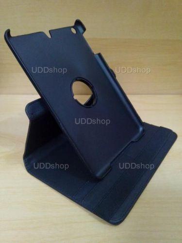 Capa Case Capinha Giratória 360º PRETA Tablet Apple iPad Mini 1 códigos A1432 A1454 A1455 -- iPad Mini 2 códigos A1489 A1490 A1491 + Frete Grátis 256033