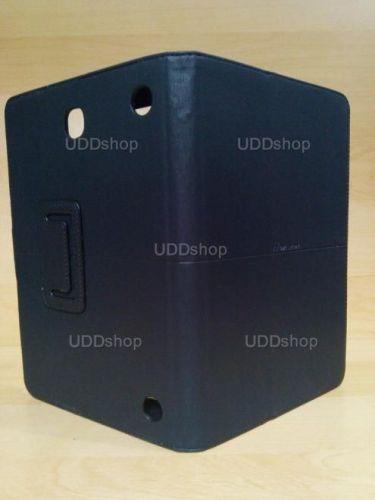 Capa Case Carteira Couro PRETA Tablet Samsung Galaxy Tab A 8.0 Modelos SM-P350n, SM-P355m, SM-T350n ou SM-T355n V3 + Frete Grátis 243956