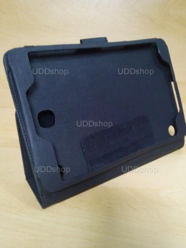 Capa Case Carteira Couro PRETA Tablet Samsung Galaxy Tab A 8.0 Modelos SM-P350n, SM-P355m, SM-T350n ou SM-T355n V3 + Frete Grátis 243958