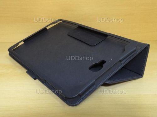 Capa Case Capinha Carteira PRETA Tablet Samsung Galaxy Tab A 10.1 (2016) Modelos SM-P580, SM-P585m, SM-T580 ou SM-T585m + Frete Grátis 269767