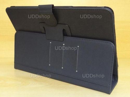 Capa Case Capinha Carteira PRETA Tablet Samsung Galaxy Tab A 10.1 (2016) Modelos SM-P580, SM-P585m, SM-T580 ou SM-T585m + Frete Grátis 269769