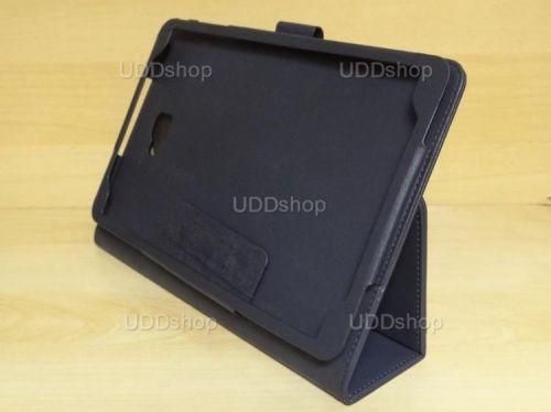 Capa Case Capinha Carteira PRETA Tablet Samsung Galaxy Tab A 10.1 (2016) Modelos SM-P580, SM-P585m, SM-T580 ou SM-T585m + Frete Grátis 269768