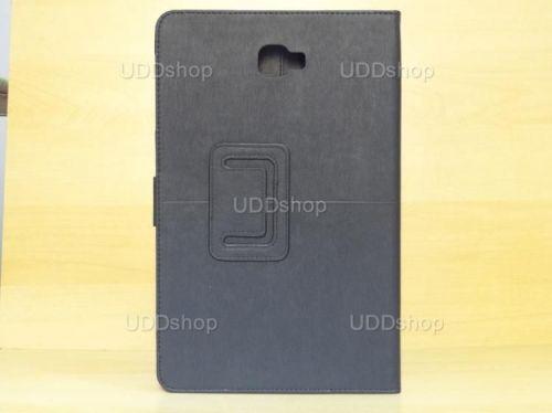 Capa Case Capinha Carteira PRETA Tablet Samsung Galaxy Tab A 10.1 (2016) Modelos SM-P580, SM-P585m, SM-T580 ou SM-T585m + Frete Grátis 269764