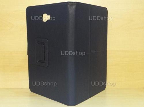 Capa Case Capinha Carteira PRETA Tablet Samsung Galaxy Tab A 10.1 (2016) Modelos SM-P580, SM-P585m, SM-T580 ou SM-T585m + Frete Grátis 269766