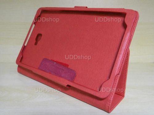 Capa Case Capinha Carteira VERMELHA Tablet Samsung Galaxy Tab A 10.1 (2016) Modelos SM-P580, SM-P585m, SM-T580 ou SM-T585m + Frete Grátis 269752