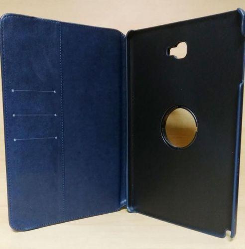 Capa Case Capinha Carteira Giratória 360° AZUL Marinho Tablet Samsung Galaxy Tab A 10.1 (2016) SM-P585m + Frete Grátis 297514