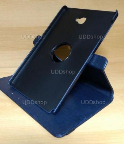 Capa Case Capinha Carteira Giratória 360° AZUL Marinho Tablet Samsung Galaxy Tab A 10.1 (2016) SM-P585m + Frete Grátis 297516
