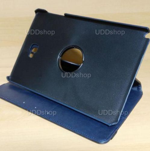 Capa Case Capinha Carteira Giratória 360° AZUL Marinho Tablet Samsung Galaxy Tab A 10.1 (2016) SM-P585m + Frete Grátis 297518