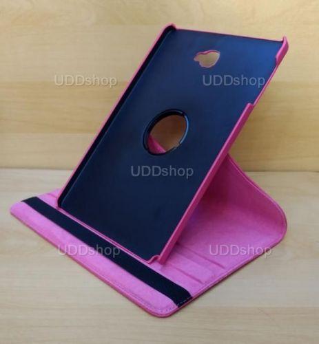 Capa Case Capinha Giratória 360° PINK Tablet Samsung Galaxy Tab A 10.1 (2016) SM-P585m V2 + Frete Grátis 303372