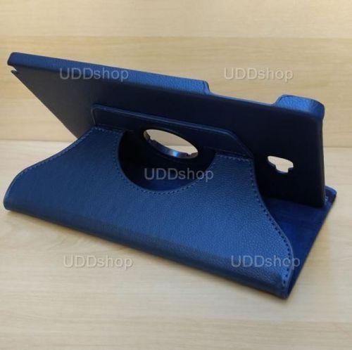 Capa Case Capinha Giratória 360° AZUL Marinho Tablet Samsung Galaxy Tab A 10.1 (2016) SM-P585m V2 + Frete Grátis 303381