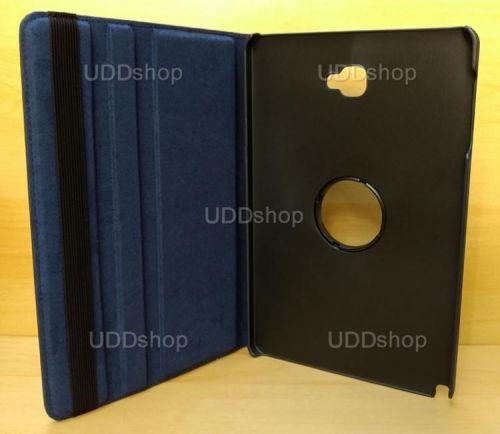 Capa Case Capinha Giratória 360° AZUL Marinho Tablet Samsung Galaxy Tab A 10.1 (2016) SM-P585m V2 + Frete Grátis 303378