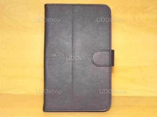 Capa Case Carteira PRETA Tablet Samsung Galaxy Tab3 Lite 7 SM-T110, SM-T111, SM-T113 ou SM-T116 + Frete Grátis 339565