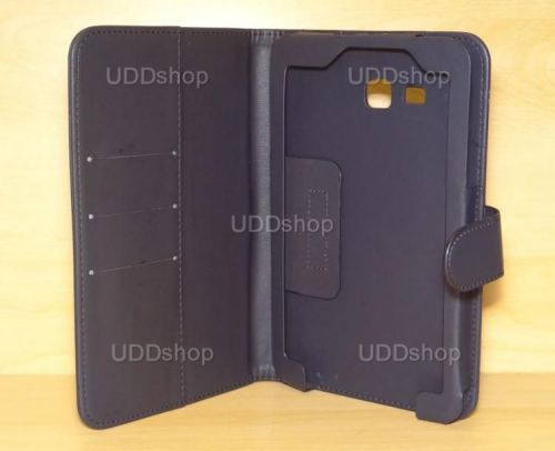 Capa Case Carteira PRETA Tablet Samsung Galaxy Tab3 Lite 7 SM-T110, SM-T111, SM-T113 ou SM-T116 + Frete Grátis 339567
