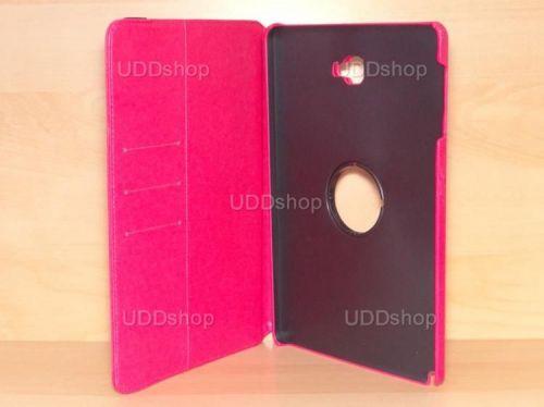 Capa Case Capinha Carteira Giratória 360° PINK Tablet Samsung Galaxy Tab A 10.1 (2016) SM-P585m + Frete Grátis 339553