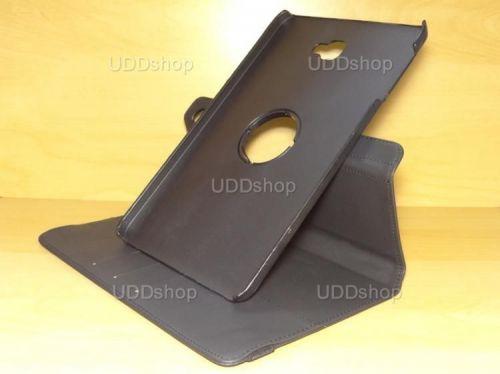Capa Case Capinha Carteira Giratória 360° PRETA Tablet Samsung Galaxy Tab A 10.1 (2016) SM-T580 ou SM-T585 + Frete Grátis 339541