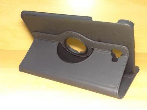 Capa Case Capinha Carteira Giratória 360° PRETA Tablet Samsung Galaxy Tab A 10.1 (2016) SM-T580 ou SM-T585 + Frete Grátis 339542