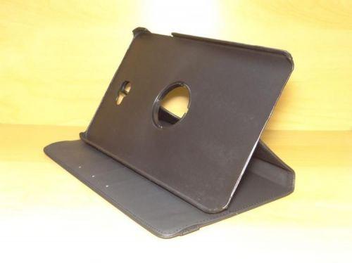 Capa Case Capinha Carteira Giratória 360° PRETA Tablet Samsung Galaxy Tab A 10.1 (2016) SM-T580 ou SM-T585 + Frete Grátis 339540