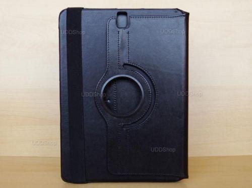 Capa Case Capinha Carteira Giratória 360° PRETA Tablet Samsung Galaxy Tab S3 9.7 SM-T820  SM-T825 + Frete Grátis 368581