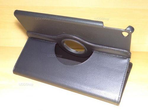 Capa Case Giratória 360º PRETA Tablet Apple iPad5 Air A1474, A1475 e A1476 -- iPad6 Air 2 A1566 e A1567 -- V3 + Frete Grátis 368535
