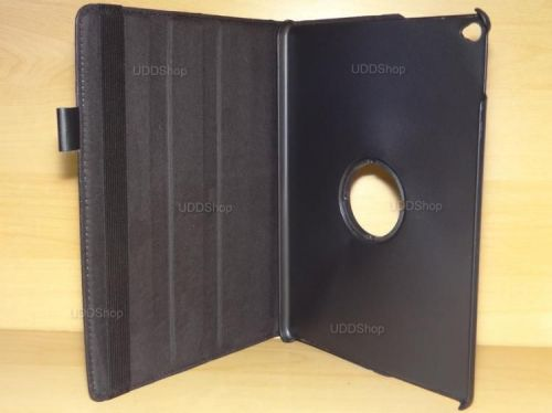 Capa Case Giratória 360º PRETA Tablet Apple iPad5 Air A1474, A1475 e A1476 -- iPad6 Air 2 A1566 e A1567 -- V3 + Frete Grátis 368531