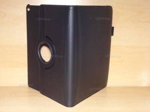 Capa Case Giratória 360º PRETA Tablet Apple iPad5 Air A1474, A1475 e A1476 -- iPad6 Air 2 A1566 e A1567 -- V3 + Frete Grátis 368532