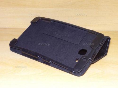 Capa Case Capinha Pasta PRETA Tablet Samsung Galaxy Tab A 7.0 (2016) SM-T280 ou SM-T285 + Frete Grátis 368542