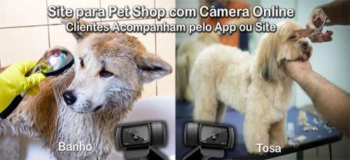 Site para Pet Shop com Câmera Online via App e Site 362299