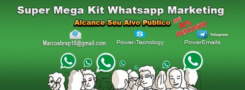 Super Mega Kit Robo Whatsapp Marketing 365978