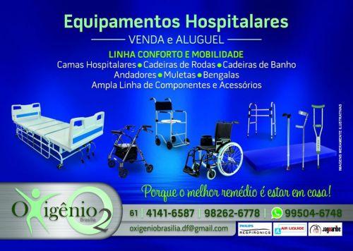 Venda e Locação de equipamentos hospitalares em Brasília 61 4141-6587  9 9282-6778 372599