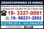 3327-0091 Desentupidora Dia e Noite No Parque São Jorge em Campinas
