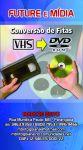 Fita Cassete Vhs para Dvd Converte