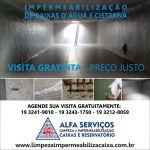 Alfa Serviços impermeabilização de caixa dágua reservatórios serviços hidráulicos e pintura de fachada