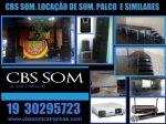 Aluguel som palco iluminação Valinhos 19 30295723