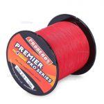 Linha de Pesca Multi-Filamento Proberos 300 metros 0,18mm 15Lbs cor Vermelha + Frete Grátis