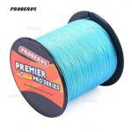 Linha de Pesca Multi-Filamento Proberos 500 metros 0,14mm 10Lbs 4.5Kg cor Azul + Frete Grátis