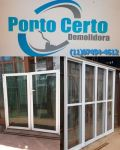 Compra De Portas e Janelas De Alumínio Branco Usadas Em São Paulo e Região