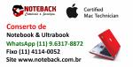 Conserto de Notebook lenovo samsung acer asus positivo itautec e outras