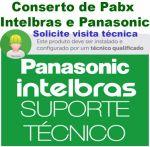 Conserto de Pabx em Sp - Autorizada Pabx Intelbras e Panasonic